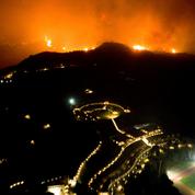 Le site antique d'Olympie échappe de justesse aux incendies qui ravagent la Grèce