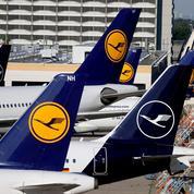 Lufthansa: perte nette divisée par deux au deuxième trimestre, à 756 millions d'euros