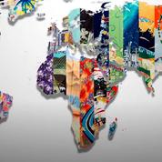 Découvrez le kimono de la France et ceux des 212 pays, créés pour célébrer les Jeux olympiques