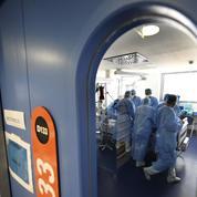 Covid-19: plus de 1500 patients en soins critiques