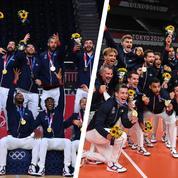Dans les coulisses des médailles d'or du hand et du volley français