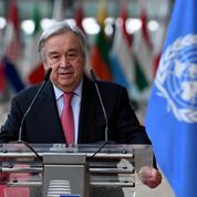 Climat : le rapport du Giec est une «alerte rouge» pour l'humanité, selon Antonio Guterres