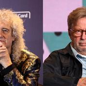 Brian May répond à Eric Clapton : «faut avoir un grain pour dire que les vaccins sont destinés à tuer»