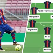 En duo avec Mbappé, Di Maria sur le banc… Comment le PSG va-t-il jouer avec Messi ?