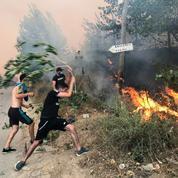Algérie : 69 morts dans des incendies en Kabylie, dont 28 militaires