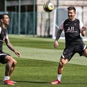 PSG : les premiers pas de Messi au Camp des Loges en vidéo