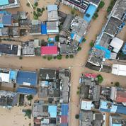 Chine : les pluies diluviennes responsables d'au moins 21 morts