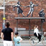 Banksy revendique de nouvelles œuvres apparues sur des murs en Angleterre