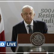 La conquête du Mexique par les Espagnols a été un «échec», selon le président mexicain