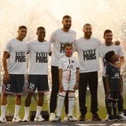 Messi, Ramos, Donnarumma... La présentation des recrues stars du PSG en images
