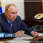 Poutine inquiet des catastrophes naturelles d'une ampleur «sans précédent» en Russie