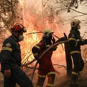 Grèce : nouvel incendie à 50 km d'Athènes, trois villages évacués par précaution