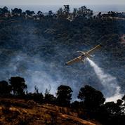 Le Portugal touché à son tour par un important feu de forêt