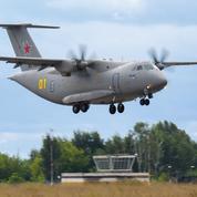 Russie : trois morts dans le crash d'un avion militaire en vol d'essai