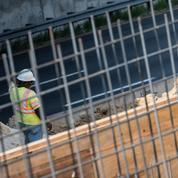 États-Unis: forte baisse des mises en chantier de logements en juillet