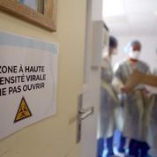 Covid-19 : plus de 2000 patients en soins critiques