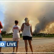 Incendie dans le Var : le feu reprend à cause du vent, la situation est «très instable»