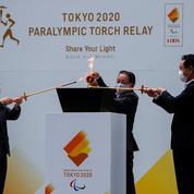 Paralympiques 2020 : arrivée de la flamme à Tokyo, record de cas de Covid-19