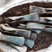Un trésor archéologique de l'âge du Bronze découvert dans un ancien habitat fortifié de l'Allier