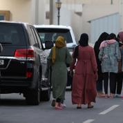 Au Qatar, des réfugiés afghans coincés depuis des jours dans une base américaine