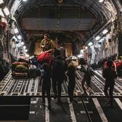 L'Afghane née à bord d'un avion militaire américain nommée Reach, nom de code de l'appareil