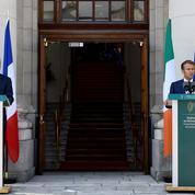 Taxe sur les multinationales : Macron assure ne «pas mettre la pression» sur l'Irlande