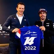 Formule 1 : Alpine confirme Alonso au côté d'Ocon pour la saison prochaine