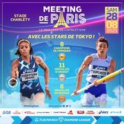Athlétisme : Paris revêt sa tenue d'or à Charléty