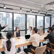 Refaire des réunions au bureau, pas si simple