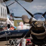 Covid-19 : Nouveau transfert aérien de patients de Marseille vers Strasbourg