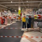 Auchan pénalisé par les restrictions sanitaires en France
