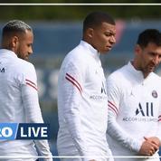 PSG : Mbappé, Messi et Neymar «sûrement» dans le groupe, annonce Pochettino