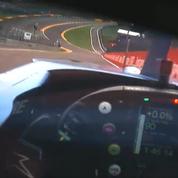 Formule 1 : l'impressionnante caméra embarquée dans le casque d'Alonso à Spa-Francorchamps