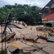 Mexique : un mort et une disparue après le passage de l'ouragan Nora