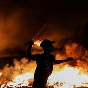Frappes aériennes sur Gaza en représailles après des lancers de ballons incendiaires
