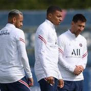 Ligue 1 : le PSG avec Messi, Mbappé et Neymar à Reims