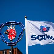 Semi-conducteurs: Scania suspend sa production dans trois pays, dont la France