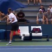 US Open : Benoît Paire fracasse un parasol et insulte un spectateur