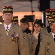 Adieu aux armes du général Houssay, commandant de la zone sud de la France