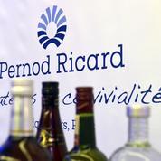 Pernod Ricard renoue avec des performances proches d'avant la crise sanitaire