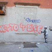 Une exposition de Banksy à Séoul suscite la colère du public