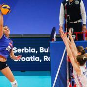 Volley : battues en quarts de l'Euro, les Bleues prennent date