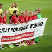 Mondial 2022 : la Norvège déploie une banderole pour le respect des Droits de l'homme