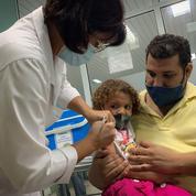 Cuba : coup d'envoi de la vaccination anti-Covid de deux à 18 ans