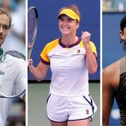 US Open : Medvedev et Svitolina en croisière, Muguruza et Halep bataillent pour rallier les huitièmes