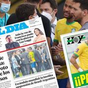 «Honte», «scandale», «ridicule» : la presse brésilienne et argentine à l'unisson après l'improbable fiasco sanitaire