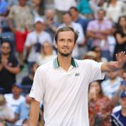 US Open : Daniil Medvedev en habitué du dernier carré