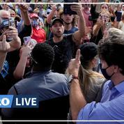 Canada : Justin Trudeau visé par des jets de gravier lors d'un déplacement électoral