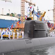 La Corée du Sud a lancé son premier missile mer-sol balistique
