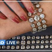 Marie-Antoinette: deux bracelets d'une centaine de diamants aux enchères à Genève